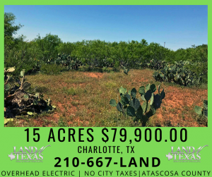 15 ACRES - UNRESTRICTED ATASCOSA COUNTY