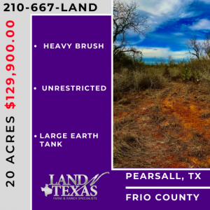 20.00 ACRES - FRIO COUNTY