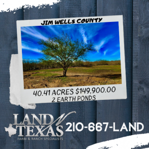 40.41 ACRES - JIM WELLS COUNTY