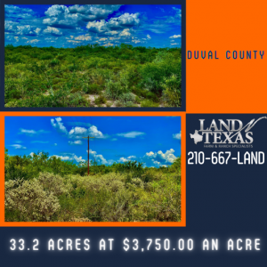 $3,750 an acre 33.20 acres in Duval County
