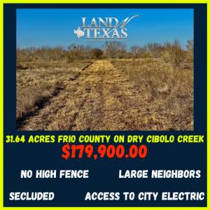31.64 Acres w/ Wet Weather Creek