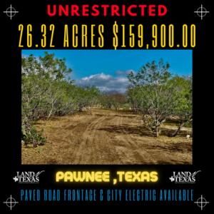 26.32 Acres Between George West & Kenedy TX